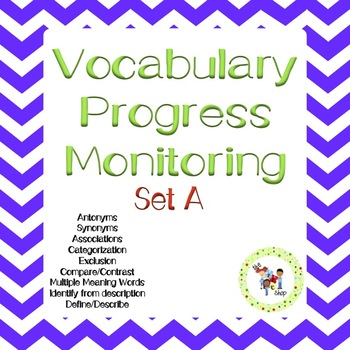 Vocabulary Progress Monitoring