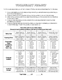 Vocabulary Project for Independent Reading