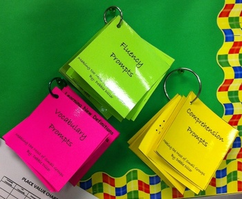Vocabulary Prompting Cards