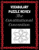 Constitutional Convention Vocabulary Puzzle, Test Prep, Ce