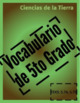 Vocabulary Puzzle: Earth Science BUNDLE ENGLISH AND SPANISH