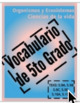 Vocabulary Puzzles ALL ENGLISH and SPANISH