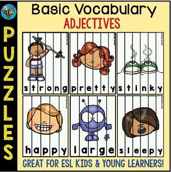 ESL Games: Adjective Puzzles