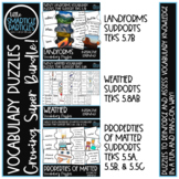 Vocabulary Puzzles Bundle