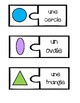 Vocabulary Puzzles - Shapes