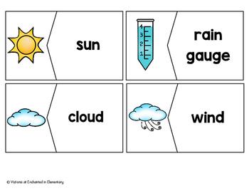Vocabulary Puzzles: Weather Set