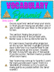 Vocabulary Pyramid Game!