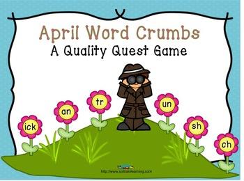 April Words Game