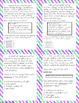 Vocabulary Questions Task Cards - STAAR Test Prep/Review