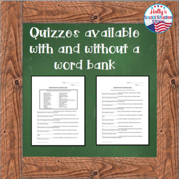 Judicial Branch Vocabulary Quiz: AP® Government (UPDATED for 2019 Redesign)