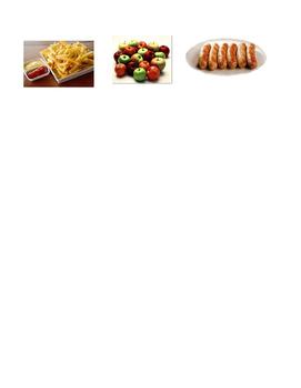Vocabulary Quiz - La comida