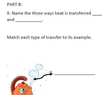 Vocabulary Quiz for HEAT