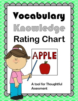 Vocabulary Rating Chart