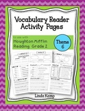 Vocabulary Reader Activities Houghton Mifflin Second Grade Theme 6