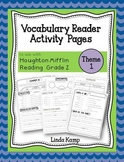 Vocabulary Reader Activities for Houghton Mifflin Second Grade Theme 1