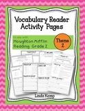 Vocabulary Reader Activities for Houghton Mifflin Second Grade Theme 2