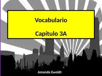 Community Vocabulary Realidades 2 Chapter 3A