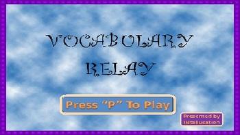 Vocabulary Relay Full Version