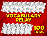 Vocabulary Word Worksheets (100 pages)