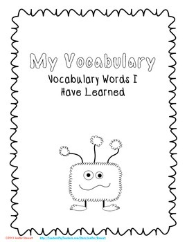 Vocabulary Resources for Reading Workshop