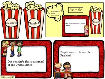 Vocabulary Review Activities, Pearson Social Studies Texas - First Grade