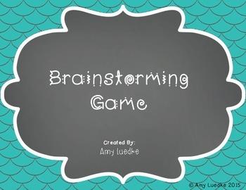 Vocabulary Scattergories Game
