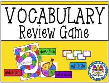 Vocabulary Review Game (For any Words!)