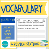 Vocabulary Review Game Stations