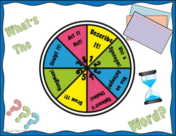 Vocabulary Review Game for Google and One Drive