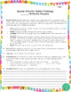 Vocabulary Review Game (handout/worksheet)