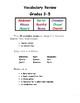 Vocabulary Review Grades 3-5