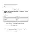 Vocabulary Review Worksheets- 4 Count(Language! Live Unit