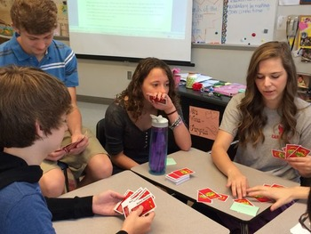 Vocabulary Review using the board game Apples to Apples--f