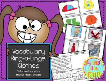 Vocabulary Ring-a Lings: Clothing