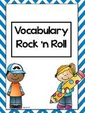 Vocabulary Rock 'n Roll