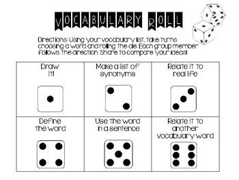 Vocabulary Roll