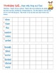Vocabulary Roll Games for Second Grade
