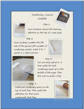 Vocabulary Routine Session 1