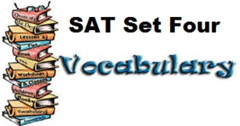 Vocabulary SAT Set 4