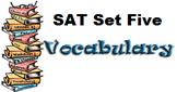 Vocabulary SAT Set 5