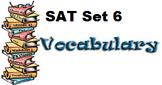 Vocabulary SAT Set Six