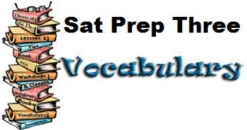 Vocabulary SAT Three