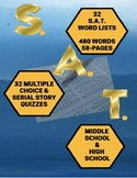Vocabulary: SAT Word Lists and Quizzes  Distance Learning