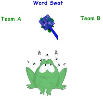 Vocabulary SWAT Game