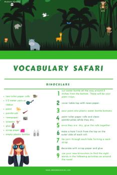 Vocabulary Safari