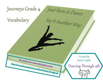 Vocabulary Say It Another Way Journeys Jose! Born to Dance