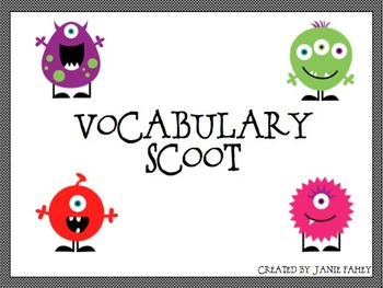 Vocabulary Scoot for Grade 4 Wordly Wise lesson 5