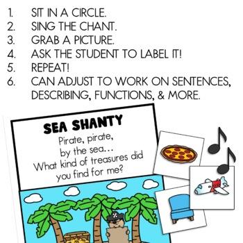Vocabulary Sea Shanty :) FREEBIE