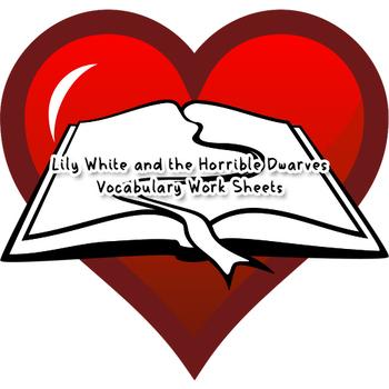 Vocabulary Sheet - Reading Circle 4 (Lily White)