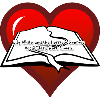 Vocabulary Sheet - Reading Circle 6 (Lily White)